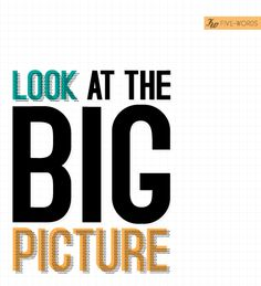 The big picture is all that really matters.  God sees the big picture; He knows what He is trying to accomplish.