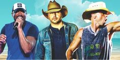 Kenny Chesney, Darius Rucker and Jason Aldean will perform in Myrtle Beach at the 2017 Carolina Country Music Festival!