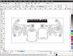 Laser MDF model cutting – cutting a chair - Thunderlaser