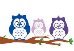 Our Parliament of Owls Family Car Decal is great for showing off what an adorable family you are as you drive around town. We only use Oracal 651 vinyl, so you can feel confident in placing this decal on your car (or just about any other smooth surface).  Each Parliament of Owls assumes 1 Large Owl, 1 Medium Owl, and all additional owls are either Small or Extra Small Owls. All owls are gender neutral. Dimensions for a Parliament of 3 Owls (1 Large, 1 Medium, & 1 Small + branch with…