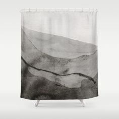 Ink Layers Shower Curtain Unique