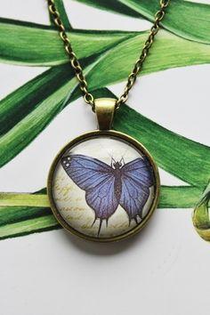 """Kette """"Schmetterling"""" von Love design auf DaWanda.com"""