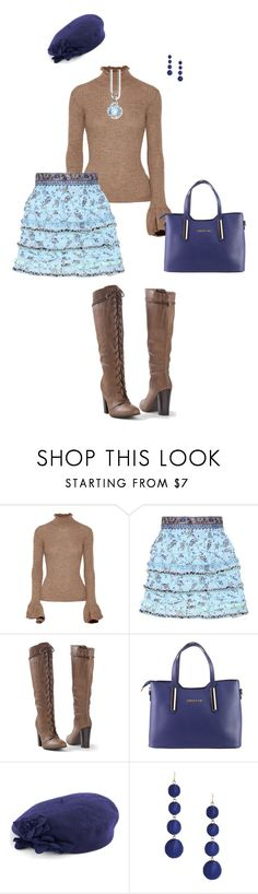 """""""#PolyPresents: Statement Shoes"""" by erinlindsay83 ❤ liked on Polyvore featuring Acne Studios, Poupette St Barth, Venus, Betmar, Forever 21, Thomas Sabo, contestentry and polyPresents"""