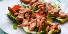 Low Carb Subway Chicken Teriyaki Baguette – ultra lecker!