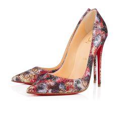CHRISTIAN LOUBOUTIN So Kate 120 Multi Glitter - Women Shoes - Christian Louboutin. #christianlouboutin #shoes #