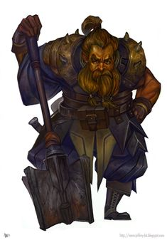 Dwarf: colour by jeffreylai on deviantART