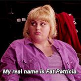 Pin for Later: 22 Quotes That Prove Fat Amy is the Best Thing About Pitch Perfect Being Honest Rebel Wilson Quotes, Rebel Wilson Funny, Pitch Perfect Chloe, Anna Kendrick Pitch Perfect, Pitch Perfect Quotes, Movie Memes, Funny Movies, Good Movies, Tv Show Quotes