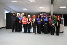 Wiggy Wednesday at The Recycling Factory in support of RSPCA Week :-)