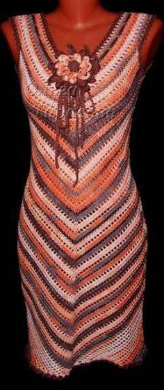 Häkelmuster Fundgrube: Kleider mittellang