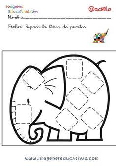 Elmer Elefante atención y grafo (27) Elmer The Elephants, Conte, Kindergarten, Preschool, Snoopy, Kids Rugs, Symbols, Letters, Activities