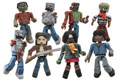 Walking Dead Minimates Series 2 From Diamond Select Toys