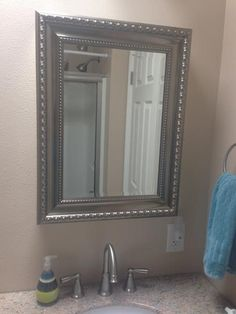 Lowes Medicine Cabinets With Lights Prepossessing Medicine Cabinet Disguised As A Mirror From Lowes Decor Ideas Inspiration