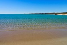 Wunderschöne Sandstrände am Sandy Bay - Cape Range National Park - North West Cape - Western Australia