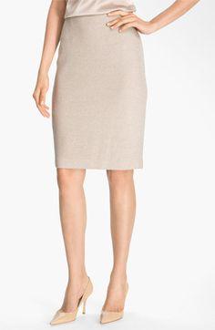 St. John Collection Shimmer Knit Pencil Skirt | Nordstrom