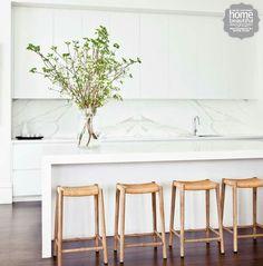 White kitchen - Home Beautiful Magazine Australia