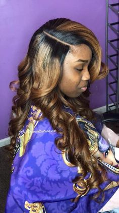 that part the truth Different Hairstyles, Long Hairstyles, Brown With Blonde Highlights, Sew Ins, Long Layered Hair, Relaxed Hair, Crochet Braids, Hair Pictures, Purple Hair