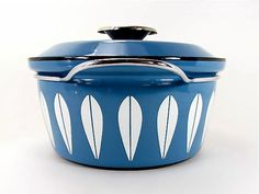 Near Mint Cathrineholm Blue Lotus Cookware by OliveandFrances, $145.00