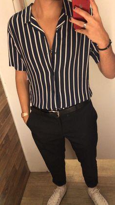 Summer mens fashion that is really great 289666 outfit e Fashion Guys, Tomboy Fashion, Fashion Outfits, Androgynous Fashion Women, Fashion Ideas, Boys Fashion Style, 90s Style Men, Men Fashion Casual, Modern Grunge Fashion