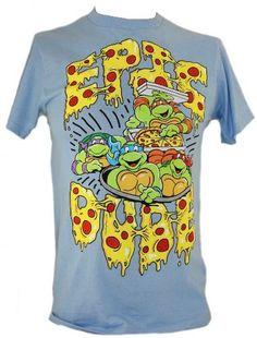 Teenage Mutant Ninja Turtles Soo this shirt describes me so well Pizza Dude, Childhood Tv Shows, Heart For Kids, Teenage Mutant Ninja Turtles, Tmnt, Women Wear, My Style, Mens Tops, T Shirt