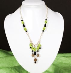 Opulent Olive Necklace