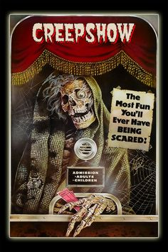 Creepshow- movie was meh, but this poster is awesome!