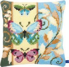 Набор для вышивки Vervaco Подушка Бабочки PN-0154716