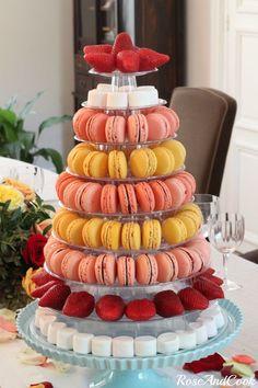 Présenter ses macarons pour une fête !