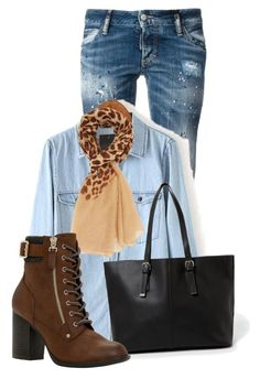 """""""Untitled #11066"""" by nanette-253 ❤ liked on Polyvore featuring Dsquared2, Charlotte Russe, MANGO and Call it SPRING"""