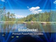 Stack Of Summer Beach Holidays Powerpoint Templates And Powerpoint
