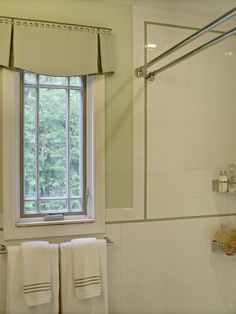 Pretty Box Valance In Bathroom Eclectic With Valance Ideas Next To Double  Curtain Rod Alongside Shower Curtain Rod And Shaped Window Treatments  Credit To ...
