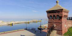 Port w Kołobrzegu. Photo by GB Big Ben, Building, Travel, Viajes, Buildings, Destinations, Traveling, Trips, Construction
