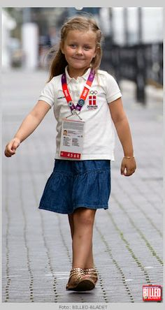 Princess Isabella (of Denmark) at the 2012 Summer Olympic Games