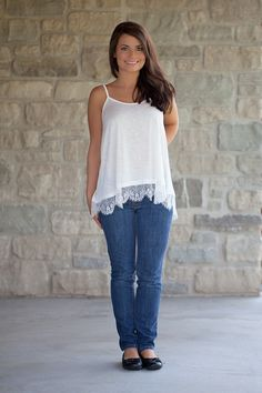 Oakleigh Rose - Lace Extender Cami, $25.00 (http://www.oakleighrosestyle.com/lace-extender-cami/)