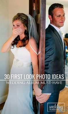30 Touching First Look Wedding Photos ❤ Many couples chose to break the rule in favour of incredibly romantic first look wedding photos.  See more: http://www.weddingforward.com/first-look-wedding-photos/ #weddings #photo Photo: Mozi photography http://www.shaneandlauren.com/