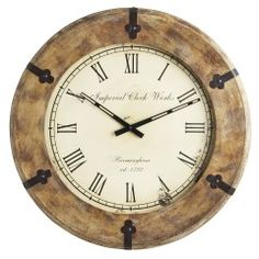 Charming Wall Clock Orig. $129.95 Clearance $99.98