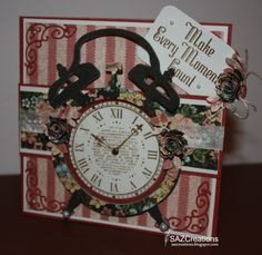Make_Every_Moment_Count_Front_by_SAZCreations by SAZCreations - Cards and Paper Crafts at Splitcoaststampers