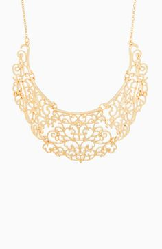 French Filigree Necklace