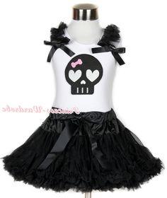 34.98$  Watch now - https://alitems.com/g/1e8d114494b01f4c715516525dc3e8/?i=5&ulp=https%3A%2F%2Fwww.aliexpress.com%2Fitem%2FHalloween-White-Tank-Top-with-Black-Skeleton-Print-with-Black-Ruffles-Black-Bow-Black-Pettiskirt-MAMG680%2F1195074036.html - Halloween White Tank Top with Black Skeleton Print with Black Ruffles & Black Bow & Black Pettiskirt MAMG680 34.98$