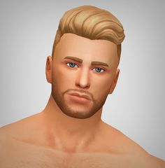 "it's another hair :P I don't know why, but it just has the kind of look that makes me want to name it ""The Douchebag"", so here it is. Sims 4 Mm Cc, Sims 4 Cc Skin, Maxis, Pelo Sims, Travel Accessories For Men, Sims 4 Cc Makeup, Sims Hair, Ethnic Hairstyles, Sims 4 Cas"