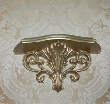 Decorative Home Interiors Wall Shelf Gold Floating Shelves Interior Walls Shelving