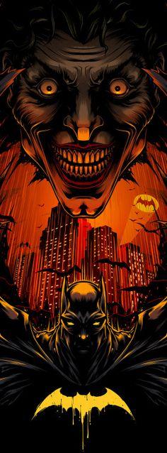 """batmannotes: """" Batman Day Tribute by Charles A. Joker Dc, Joker And Harley Quinn, Joker 3d Wallpaper, Wallpaper Backgrounds, Wallpapers, 3 Jokers, Jokers Wild, Dc Comics, Batman Artwork"""