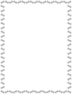 A border featuring simple dog bone graphics around the page. Free downloads at…