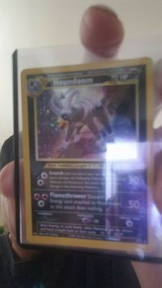 Houndoom Neo Discovery Holo 4/75 wizards of the coast Pokémon Card Near MINT