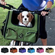 A convenient and stylish way to travel with your small dog or cat up to 16 lbs