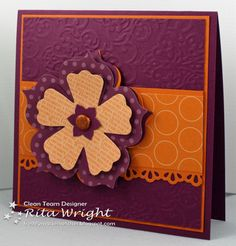 Rita's Creations: Razzleberry Fun Flower for FMS