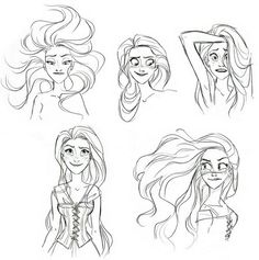 Rapunzel- Hair Stuff- her hair is pretty freaking awesome.