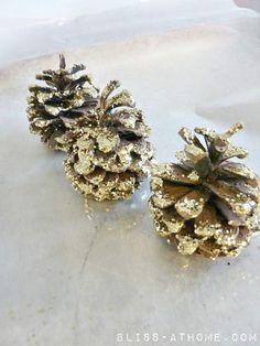 DIY Glitter Pinecones - great to do with kids! (scheduled via http://www.tailwindapp.com?utm_source=pinterest&utm_medium=twpin&utm_content=post318343&utm_campaign=scheduler_attribution)