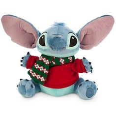 Disney Stitch Plush - Holiday - Medium - 12'' -- To view further for this item, visit the image link. (This is an affiliate link)
