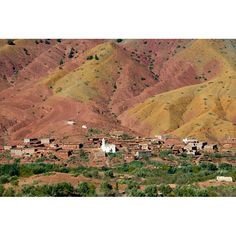Colors in the High Atlas are unbelievable, Morocco