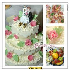 Cabriela a Milan, svatební dort